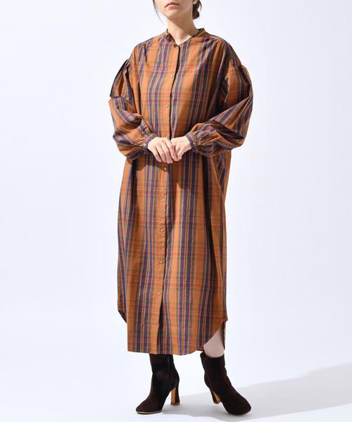 【30%OFF】 ne CPCM/ Quittez pas POPLIN/ POPLIN CHECK SHIRT DRESS(ワンピース)|NE QUITTEZ PAS!(ヌキテパ)のファッション通販, イシコシマチ:8e3d0cdc --- skoda-tmn.ru