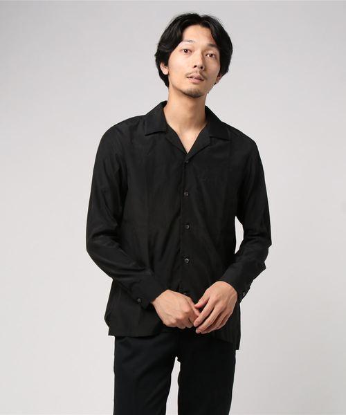 注目の KAZUYUKI KUMAGAI ATTACHMENT(カズユキクガマイ アタッチメント)ローンオープンカラーシャツ/KS92-005, Slow time life 06ac40c9