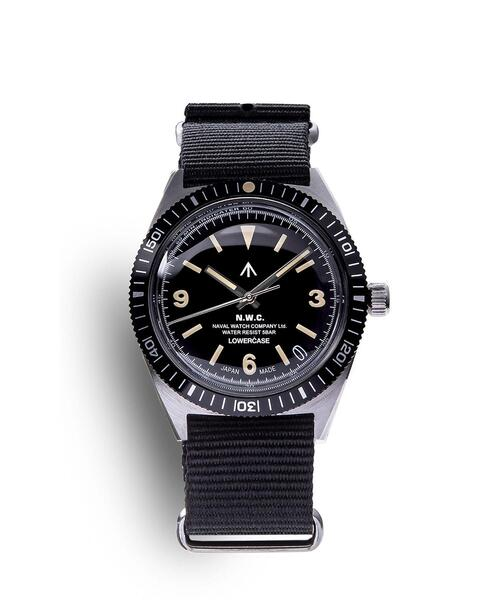 <NAVAL WATCH Produced by LOWERCASE> MILITARY WATCH 2/腕時計