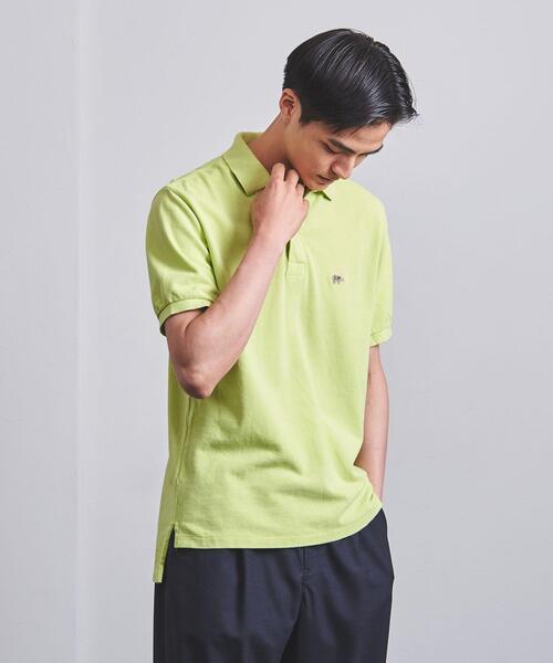 【WEB限定】<SCYE BASICS(サイ ベーシックス)> ピケ ポロシャツ