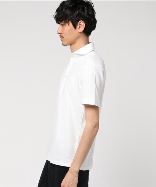 EVALETメッシュポロシャツ
