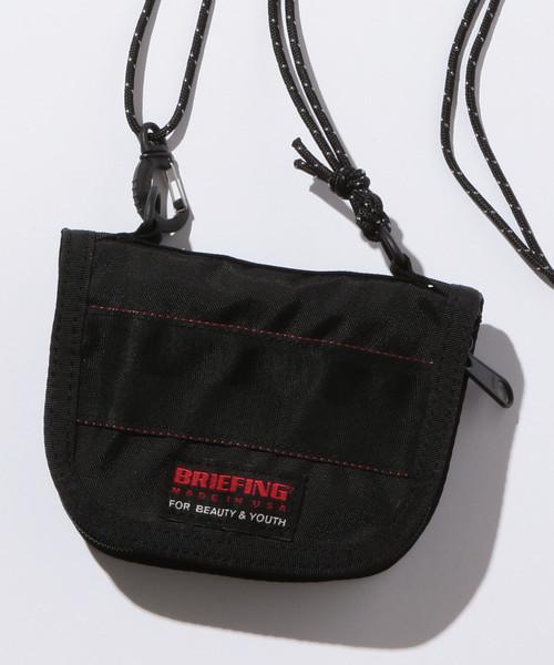 【別注】 <BRIEFING(ブリーフィング)> 2WAY ZIP WALLET/財布