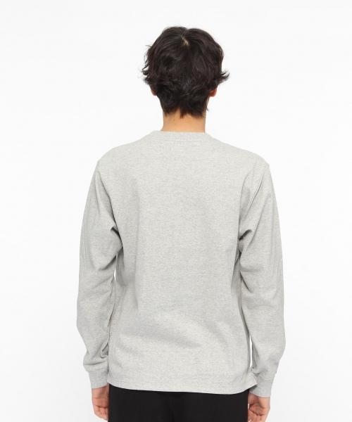 【汗ジミ軽減】USAコットンロングスリーブTシャツ / LAKOLE