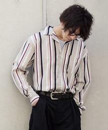 ZIP FIVE(ジップファイブ)の長袖リラックスオープンカラーシャツ【開襟シャツ】(シャツ/ブラウス)