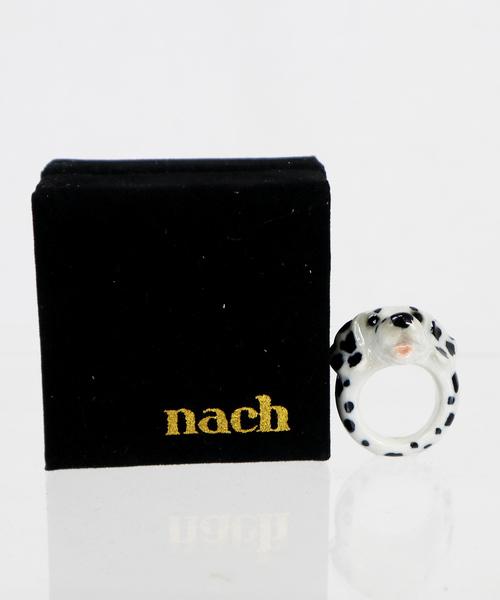 NACH(ナッシュ)アニマルモチーフリング 磁器