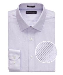 BANANA REPUBLIC(バナナリパブリック)のGrant Slim-Fit ノンアイロン ドビープリント ドレスシャツ(シャツ/ブラウス)