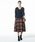 ROPE'(ロペ)の「【19AW】ウールリバーシブルフレアスカート(スカート)」|詳細画像