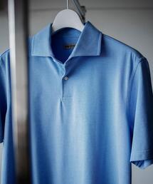 <SOVEREIGN(ソブリン)> C/MAX ワイドカラー ポロシャツ