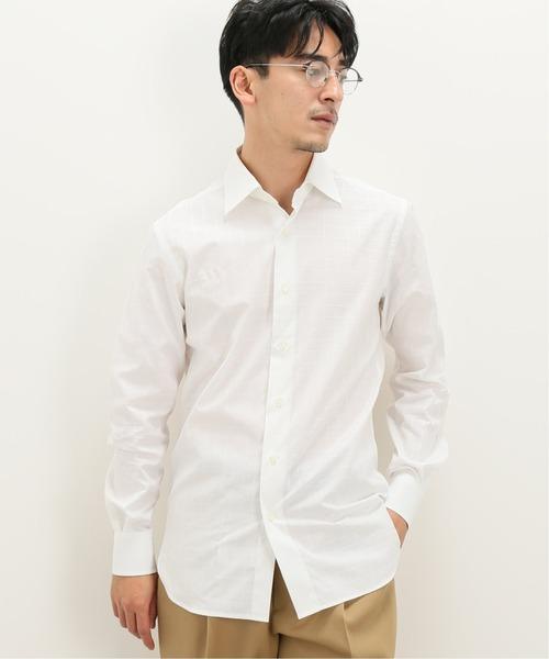【ドレスシャツ】セミワイド ウィンドペン
