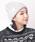 CABALLERO(キャバレロ)の「キャバレロ ニット帽 CABALLERO MILITARY WATCH KNIT TAG タグ付き(ニットキャップ/ビーニー)」 グレー系その他