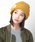 CABALLERO(キャバレロ)の「キャバレロ ニット帽 CABALLERO MILITARY WATCH KNIT TAG タグ付き(ニットキャップ/ビーニー)」 イエロー系その他