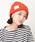 CABALLERO(キャバレロ)の「キャバレロ ニット帽 CABALLERO MILITARY WATCH KNIT TAG タグ付き(ニットキャップ/ビーニー)」 オレンジ系その他
