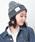 CABALLERO(キャバレロ)の「キャバレロ ニット帽 CABALLERO MILITARY WATCH KNIT TAG タグ付き(ニットキャップ/ビーニー)」 ブラック系その他2