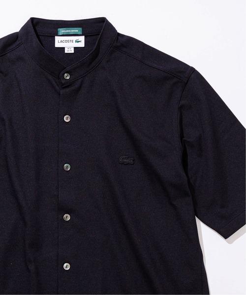 【LACOSTE / ラコステ】別注 カノコバンドカラー ポロシャツ
