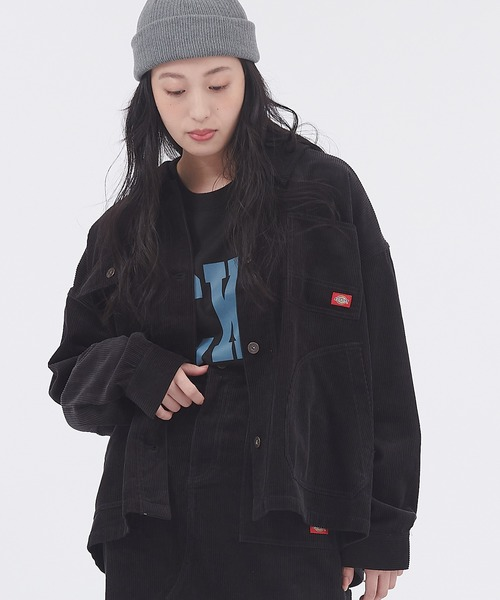 Dickies/ディッキーズ オーバーサイズ コーデュロイワークジャケット