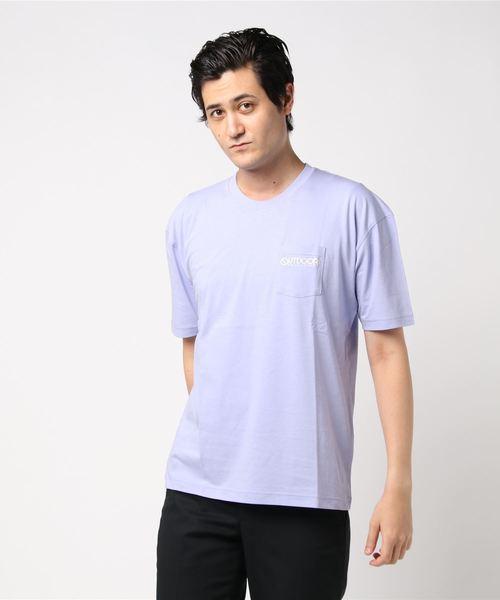ポケットシシュウロゴTシャツ