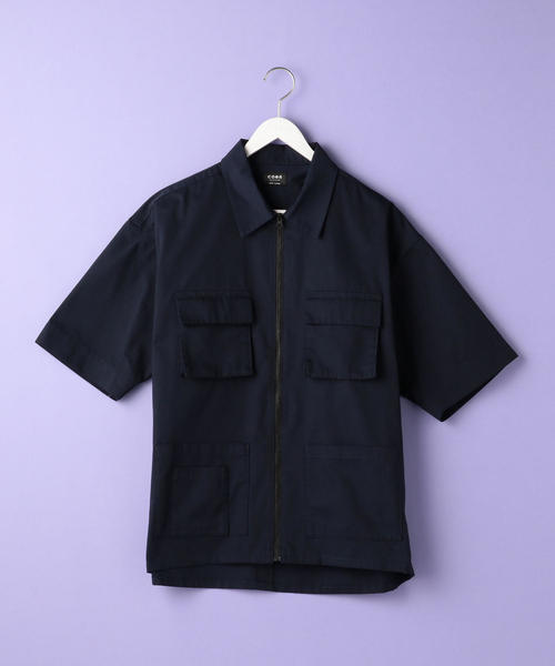 TCハーフスリーブユーティリティシャツ(UTILITY LINE)
