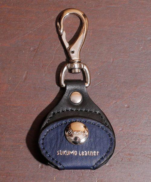 Cramp クランプ SUKUMO Leather スクモレザー 藍染め キー&コインホルダー SKM-009
