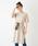 Discoat(ディスコート)の「USコットン裾スリットワンピース/ロングTシャツ/チュニック/ビッグTシャツ(ワンピース)」|ライトベージュ