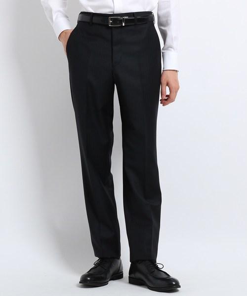 【超ポイントバック祭】 【J∞QUALITY】シャドーオルタネイトストライプ パンツ Fabric by MIYUKI KEORI, 丸井(マルイ) c111a823
