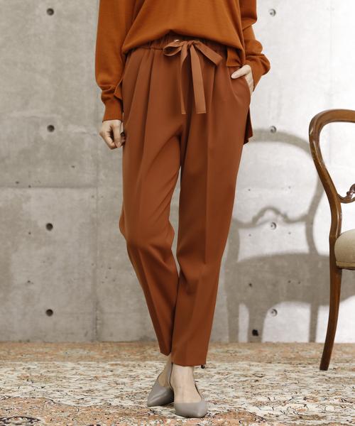 品質保証 ステファニーイージータックパンツ(パンツ)|TIARA(ティアラ)のファッション通販, カワマタマチ:0c246fb3 --- blog.buypower.ng