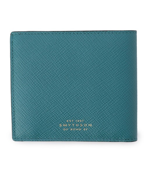 big sale 50027 53f7b SMYTHSON / '4CC NOTECASE AND COIN PURSE' 2つ折りウォレット