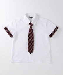 b852cd107de53 COMME CA ISM KIDS BABY(コムサイズム キッズ&ベビー)の「ネクタイ付きシャツ(
