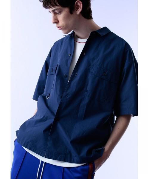 <monkey time>  DMP FISHERMAN SHIRT/フィッシングシャツ ◆