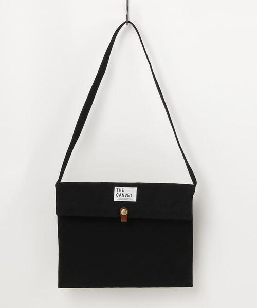 :【THE CANVET / ザ・キャンヴェット】本革ベルト キャンバスバック Bonk BAG tc714017