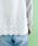 merlot(メルロー)の「バックレース刺繍ドッキングスウェットプルオーバー079-7042(その他トップス)」|詳細画像