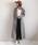 AZUL ENCANTO(アズールエンカント)の「【洗濯機で洗える】【消臭効果】ガンクラブチェックブラウジングシャツワンピース(シャツワンピース)」|詳細画像