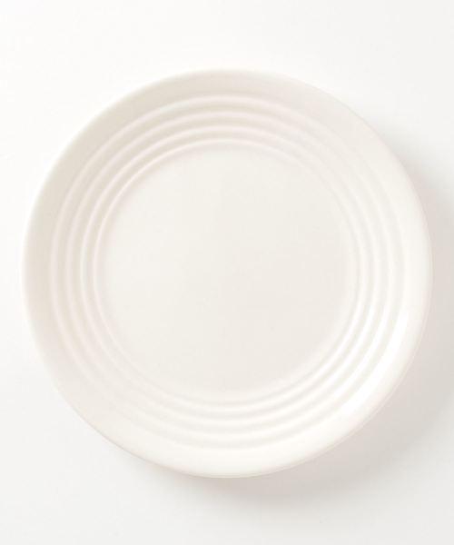 BAUER POTTERY(バウアーポッタリー)の「BAUER POTTERY/バウアーポッタリー SALAD PLATE 8inch(食器)」|ホワイト