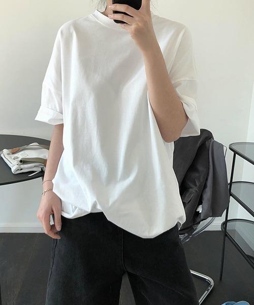 【chuclla】【2020/SS】オーバーサイズ コットンTシャツ chw1184