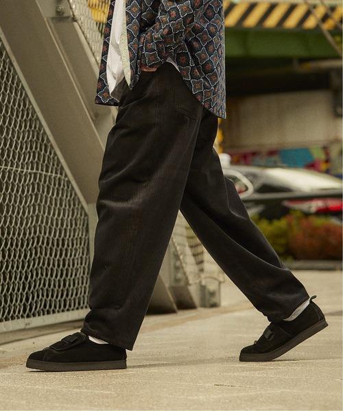 JOURNAL STANDARD(ジャーナルスタンダード)の「◆バルーン 太畝コーデュロイ パンツ(その他パンツ)」|ブラック