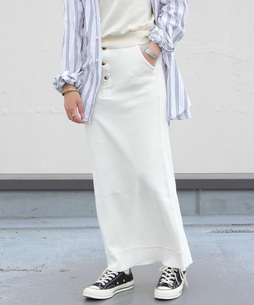 THE SHINZONE / シンゾーン THERMAL SKIRT サーマルスカート