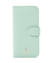 LANVIN en Bleu(ランバンオンブルー)のリュクサンブール iPhone7/8 手帳型モバイルケース(モバイルケース/カバー)