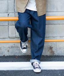 ikka(イッカ)の【Web限定】デニムバギーワイドパンツ(デニムパンツ)