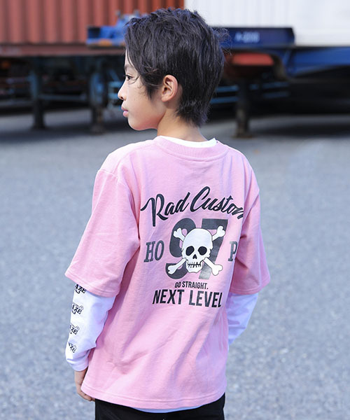 RAD CUSTOM/【カタログ掲載】ミニミニ裏毛プリントTシャツセット