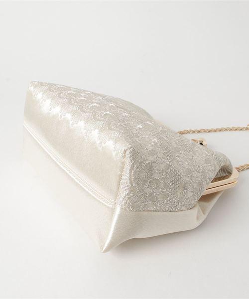 Dorry Doll(ドリードール)の「幾何学刺繍模様入りフォーマルクラッチバッグ(クラッチバッグ)」|詳細画像
