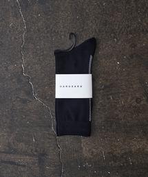 HARUSAKU(ハルサク)のHARUSAKU:Herringbone Back Line Socks:ヘリンボーン バックライン ソックス(ソックス/靴下)