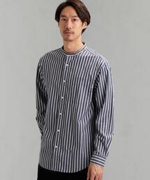 [ジムフレックス]SC★GYMPHLEX RELAX バンドカラーシャツ