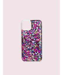 kate spade new york(ケイトスペード ニューヨーク)のアイフォン ケース パーティー コンフェッティ - 11 pro【iPhone 11 Pro】(モバイルケース/カバー)