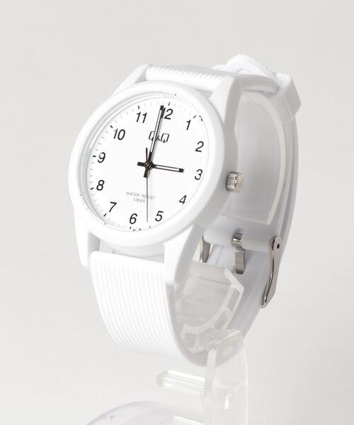 【 Q&Q 】 VS40 カラーウォッチ ウレタン 防水時計 HDG