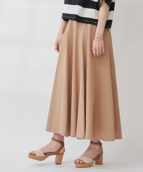 【THE CHIC】バイオ加工アーミースカート