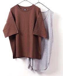 FREAK'S STORE(フリークスストア)のWEB限定 サーマルレイヤード 半袖Tシャツ&タンクトップ(Tシャツ/カットソー)