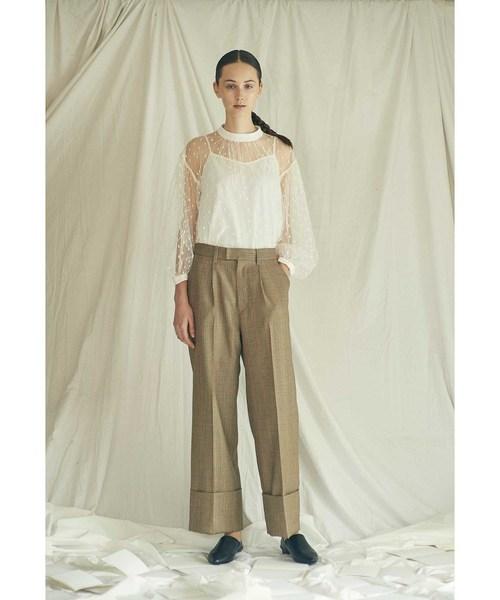 新作人気モデル ロールアップパンツ(パンツ)|nesessaire(ネセセア)のファッション通販, 内原町:7357e066 --- pyme.pe