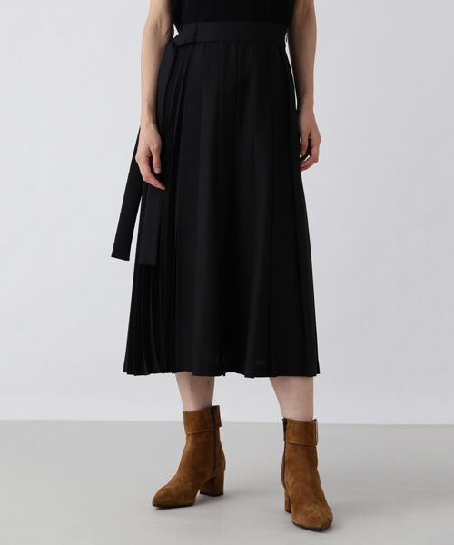 【有名人芸能人】 プリーツロングスカート, やまがたけん 2be0eb57