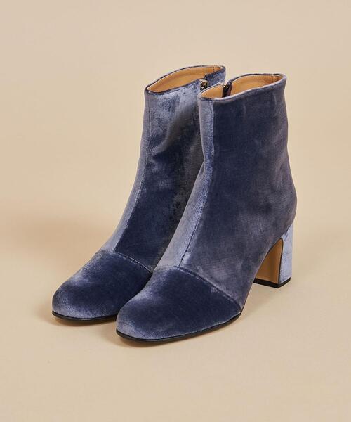 <Steven Alan>FABRIC SHORT BOOTS/ブーツ ∴