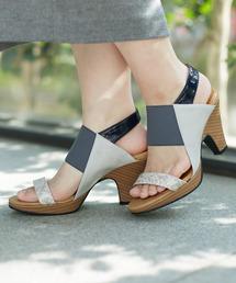 alcali(アルカリ)のmie scarpe/太ベルトPERFECTサンダル(サンダル)