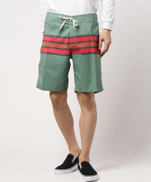 f418487140909 BARGE STRIPE TRUNK(パンツ)|BRIXTON(ブリクストン)のファッション ...